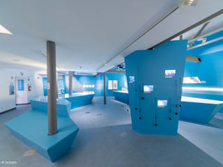 Frozen Stories - l'allestimento realizzato dallo studio altoatesino doc DOC SRL Musei moderni