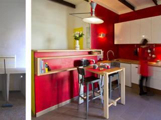Rénovation d'un appartement à Ajaccio « Grand volume pour petite surface, un mini- loft tout citadin » par Atelier RnB Industriel