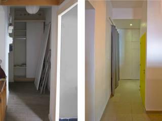 Rénovation d'un appartement à Ajaccio « Grand volume pour petite surface, un mini- loft tout citadin » par Atelier RnB Éclectique