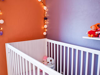 B.Inside Nursery/kid's room