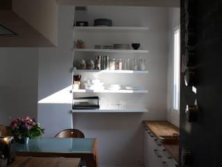 Duplex Paris 11: Cuisine de style  par Arielle Apelbaum Sela