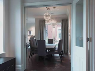 High end residential 1 Classic style dining room by T-Space Architects Classic