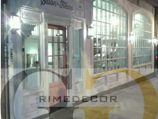 LOCAL COMERCIAL EN MADRID de GREGORIO GUERRERO INTERIORISMO Rústico