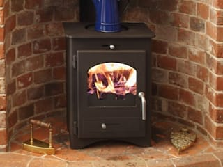 Bohemia Multi Fuel Stoves de Direct Stoves Moderno
