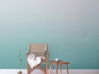 Papier peint Séraphine - Collection CELESTE: Murs & Sols de style  par MUES design
