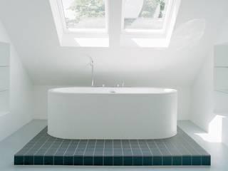 Zen Badkamer:  Badkamer door Ab Interieurarchitect, Minimalistisch