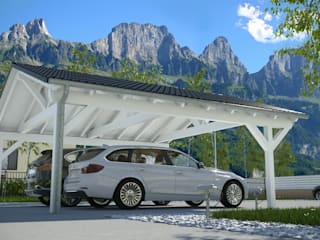 modern  by Solarterrassen & Carportwerk GmbH, Modern
