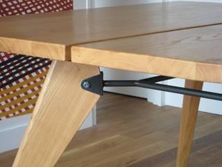 Table Zonco - Détail d'assemblage:  de style  par Structures sur mesure