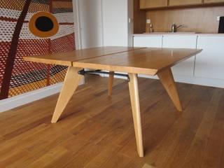 Table Zonco - En situation:  de style  par Structures sur mesure