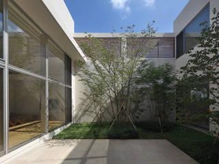 Jardin moderne par Atelier Square Moderne