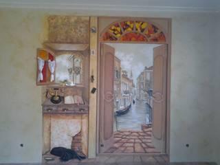 уголок старой Италии: Столовые комнаты в . Автор – Абрикос
