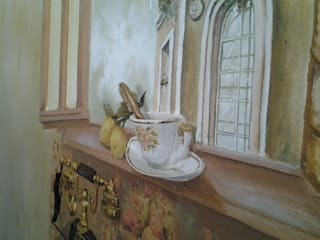 Абрикос Classic style dining room