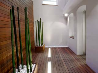 Proyecto Patio de Luces - Oficinas Unicaja Barcelona: Oficinas y Tiendas de estilo  de Paisajismo Digital