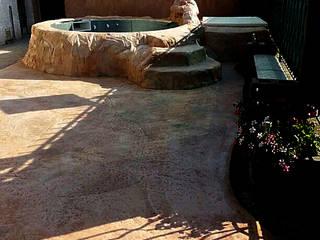 Roccia Artificiale Pavimento Moderno Piscine Beige