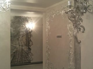Classic style corridor, hallway and stairs by Абрикос Classic