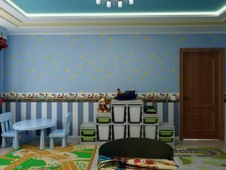 """Детская в стиле """"Игрушки"""" : Детские комнаты в . Автор – Цунёв_Дизайн. Студия интерьерных решений."""