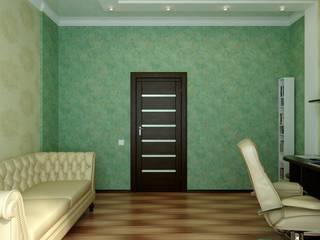 Classic style study/office by Цунёв_Дизайн. Студия интерьерных решений. Classic