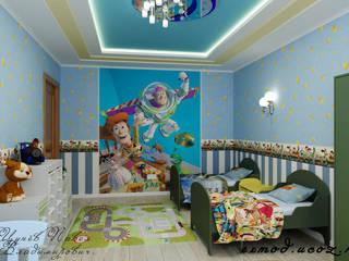 """Детская в стиле """"Игрушки"""" Детские комната в эклектичном стиле от Цунёв_Дизайн. Студия интерьерных решений. Эклектичный"""