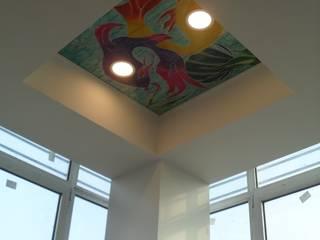 YBM Tasarım Dekoratif Cam Paneller – Dekoratif Cam Tavan Plakaları:  tarz İç Dekorasyon