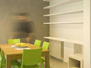 Residenza a Le Ferriere #B: Sala da pranzo in stile  di RAD