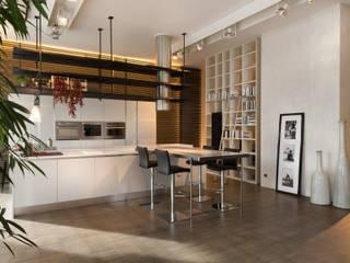 Showroom di Busto Arsizio Cucina moderna di Forme per Interni Moderno