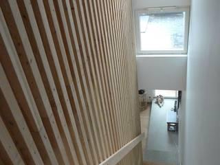 Koridor dan lorong oleh Plus Architectes