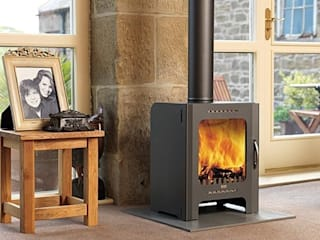 Firebelly Wood Burning Stoves: modern  by Direct Stoves, Modern