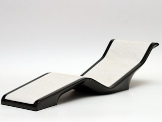 "DIVA ""Basico"" Heated Chaise Lounge Fabio Alemanno Design SpaFurniture"