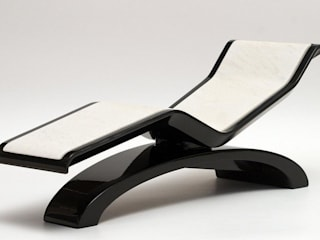 "DIVA ""Classico"" Heated Chaise Lounge Fabio Alemanno Design SpaFurniture"