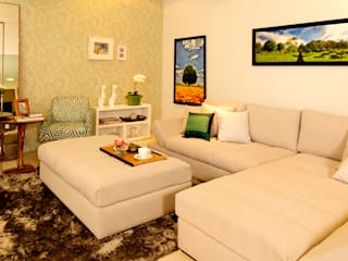 FAMILY ROOM ACONCHEGO por Adriana Scartaris Salas de estar modernas por Adriana Scartaris: Design e Interiores em São Paulo Moderno