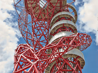 ArcelorMittal Orbit Shoot, Olympic Park, London de Adam Coupe Photography Limited Moderno