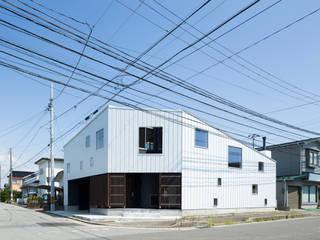 外観(北西側): 花田設計事務所が手掛けたです。