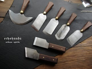 paring knives & cutting knives for leather works: 에코핸즈의