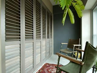 寝室+土間 モダンスタイルの寝室 の TATO DESIGN:タトデザイン株式会社 モダン