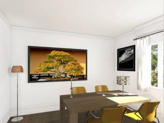 Architecture d'intérieur - Appartement Bordeaux, France Sandra Hisbèque Salle à manger moderne
