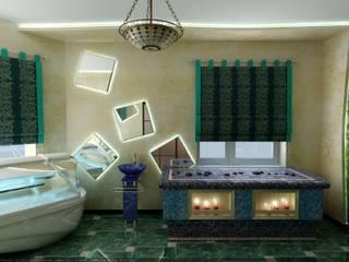 Массажный кабинет в Спа - Салоне: Спа в . Автор – Цунёв_Дизайн. Студия интерьерных решений.