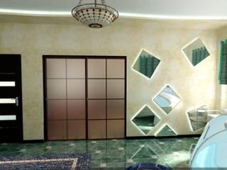 Asian style spa by Цунёв_Дизайн. Студия интерьерных решений. Asian