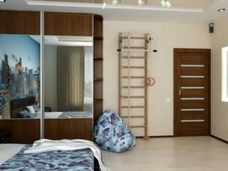 Детская для мальчика Детские комната в эклектичном стиле от Цунёв_Дизайн. Студия интерьерных решений. Эклектичный