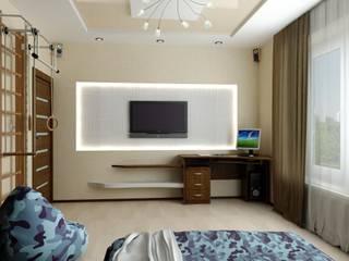 Eclectic style nursery/kids room by Цунёв_Дизайн. Студия интерьерных решений. Eclectic