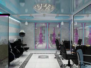 Салон красоты. Парикмахерская Спа в стиле модерн от Цунёв_Дизайн. Студия интерьерных решений. Модерн