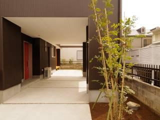 Casas de estilo  de K+Yアトリエ一級建築士事務所, Moderno