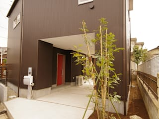 市川市K邸 モダンな 家 の K+Yアトリエ一級建築士事務所 モダン