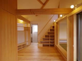 市川市K邸 オリジナルデザインの リビング の K+Yアトリエ一級建築士事務所 オリジナル