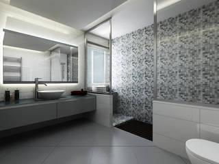 Salle de bains de style  par Niyazi Özçakar İç Mimarlık, Moderne