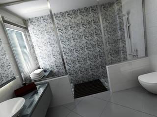 Niyazi Özçakar İç Mimarlık Nowoczesna łazienka