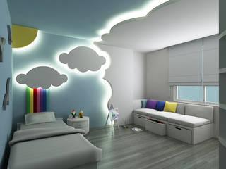 Chambre d'enfant moderne par Niyazi Özçakar İç Mimarlık Moderne