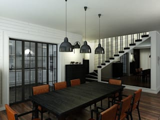 Salle à manger de style  par Niyazi Özçakar İç Mimarlık, Éclectique