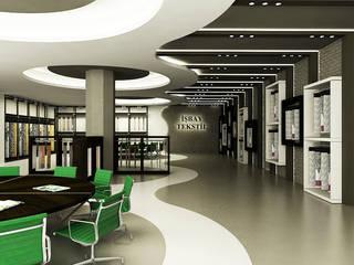 Kantor & Toko Modern Oleh Niyazi Özçakar İç Mimarlık Modern