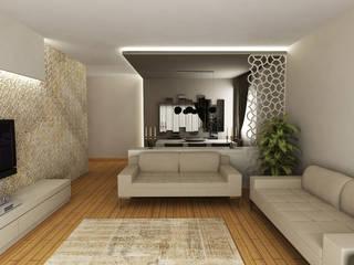 Salon de style  par Niyazi Özçakar İç Mimarlık, Moderne