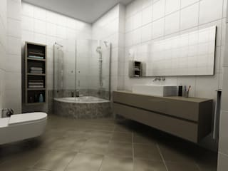Bathroom by Niyazi Özçakar İç Mimarlık, Modern